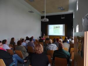 Tagung im Besucherinformationszentrum des Naturparks