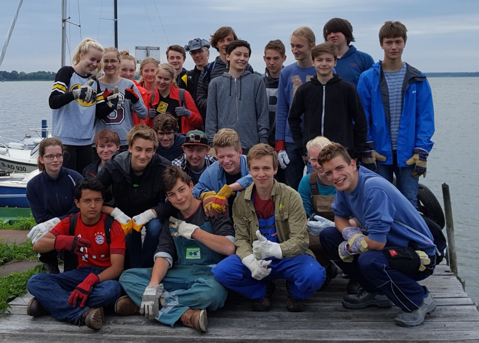 20160712 094421 940x672 9. Klässler aus Greifswald engagieren sich für den Naturschutz