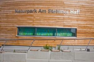 Besucherinformationszentrum am Bahnhof in Eggesin (Foto: U. Steinhäuser)