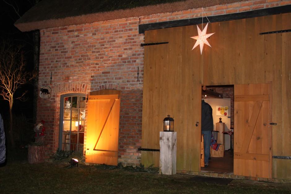 Adventsdorf Rieth Hof Kulturscheune Rieth Adventsmarkt Weihnachstmarkt 940x626 Weihnachten steht vor der Tür ....