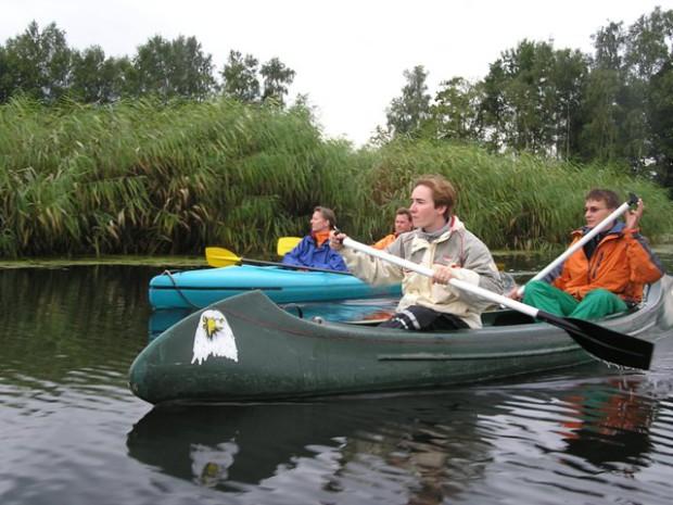 Auf Bibertour mit Kanu 620x465 Dem Biber auf der Spur