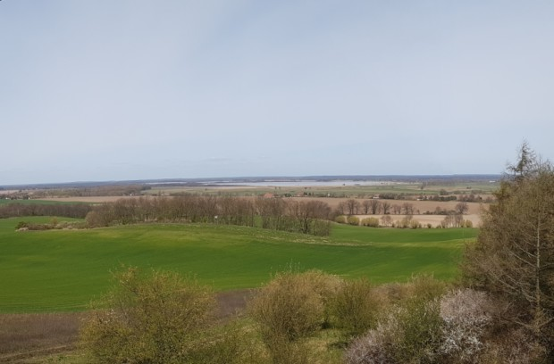 Blick vom Fuchsberg01 620x408 Es ist vollbracht    der neue Naturpark Aussichtsturm auf dem Fuchsberg steht !