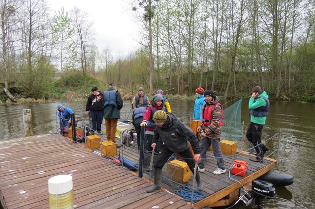 Bootstour Generalprobe   Tagestourangebot führt vom ZERUM Ueckermünde nach Eggesin zur Naturparkstation