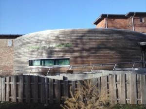 Besucherinformationszentrum in Eggesin (Foto: Naturpark-Archiv)