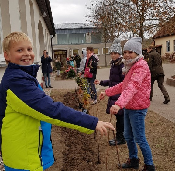 GS Ahlbeck Süßes für die Naturpark Schulen