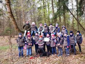 Klasse 2 - Nikolaischule Pasewalk (Foto: Naturparkarchiv)