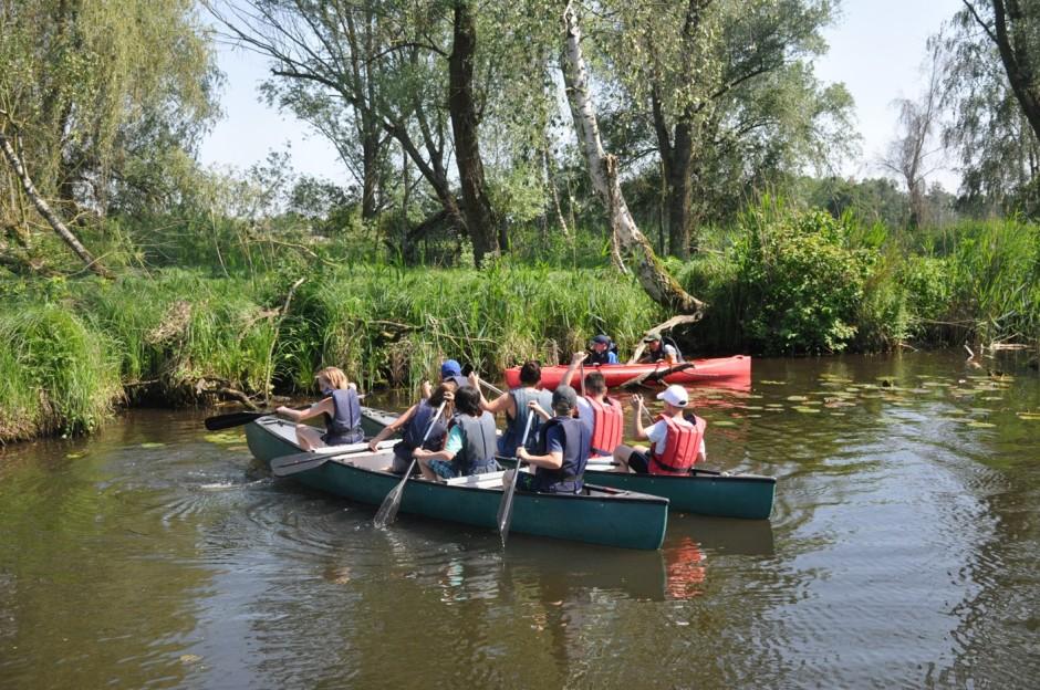 Kanu Gruppe01 klein 940x624 Naturpark Stammtisch im Grünen mit aktiven Beitrag zum Tag der Umwelt und Tage der Nachhaltigkeit
