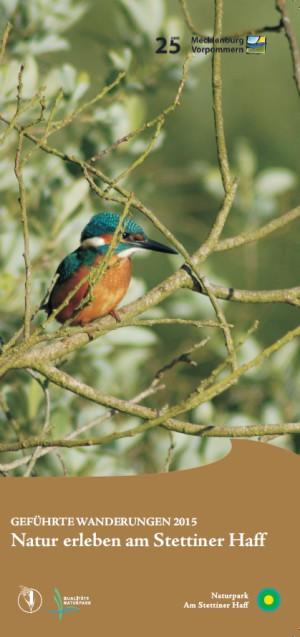 Broschüre Natur erleben 2015