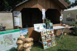 Informationsstand des Naturpark-Fördervereins (Foto: Naturpark-Archiv)