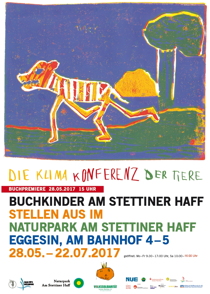 Plakat1 Buchpremiere im Besucherinformationszentrum   Die Klima Konferenz der Tiere