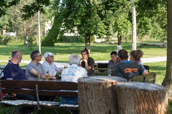 Stammtisch 3 Naturpark Stammtisch im Grünen mit aktiven Beitrag zum Tag der Umwelt und Tage der Nachhaltigkeit