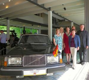 """Imposanter """"Schlitten"""" - in diesem Volvo ließ sich der frühere Stasi-Chef Erich Mielke chauffieren."""