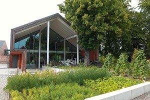 Ein Blick in unseren Schaugarten, der in diesem Jahr viele verschiedene Hülsenfrüchte zeigt. (Foto: Gemeinde Wandlitz  / BARNIM PANORAMA)