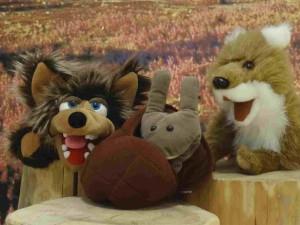 """Im Dezember lädt das BARNIM PANORAMA im Rahmen der Sonderausstellung """"Wolf"""" zu märchenhaften Veranstaltungen ein."""