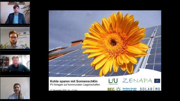 Bild1 620x349 2. Online Seminar im Rahmen der Kampagne Kohle sparen mit Sonnenschein?