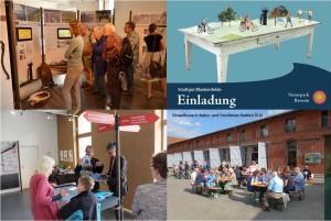 Eindrücke der Projektbestandteile (Fotos: StadtGut Blankenfelde)