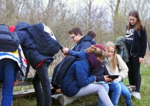 Schüler der 7. Klasse des Barnim Gymnasiums Bernau (Foto: Ines Heyer)