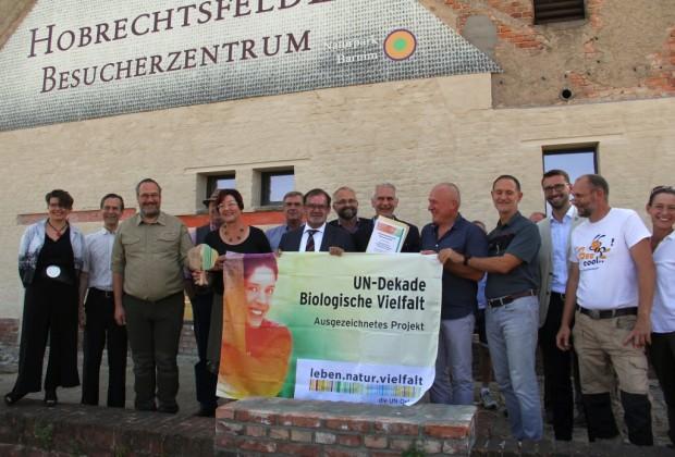 IMG 3962 klein 620x420 Rieselfeldlandschaft Hobrechtsfelde erhält Auszeichnung als offizielles Projekt der UN Dekade Biologische Vielfalt