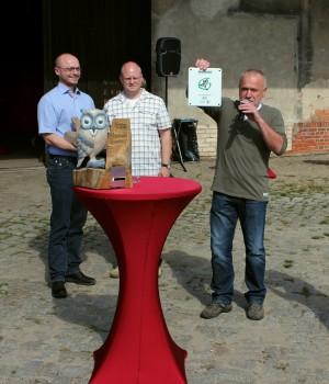 Auszeichnung der Siegergemeinde Birkenwerder im Jahr 2012