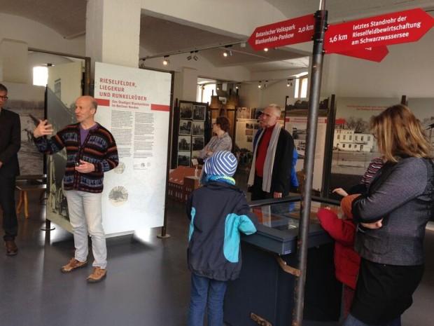 Infotool Eröffnung 620x465 Eröffnung des neuen Infotools im StadtGut Blankenfelde