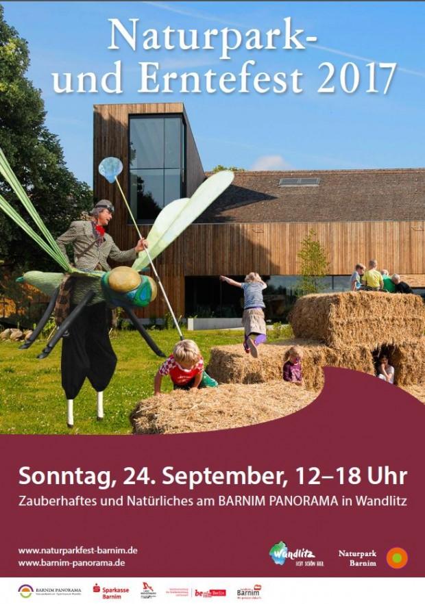 Plakat NP Fest 620x882 Naturpark  und Erntefest am 24. September 2017