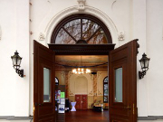 Der LabSaal in Lübars - Eingang