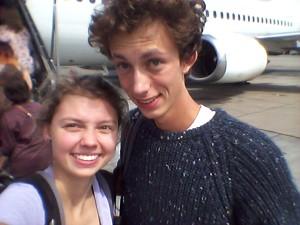 Die Aufregung vor dem Flug, Foto: Isabell Roßmann