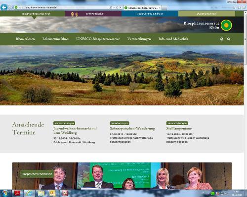 Homepage Ein gemeinsamer Auftritt
