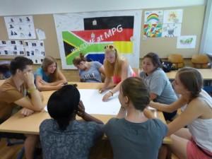 Wertediskussion im Klassenzimmer