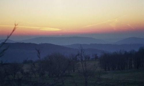 Morgendämmerung auf der Hochrhön1 Masterplan macht Biosphärenreservat Rhön zur Modellregion