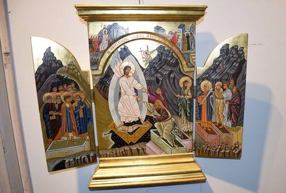 Oster Ikone Ikonen   Fenster zur Ewigkeit