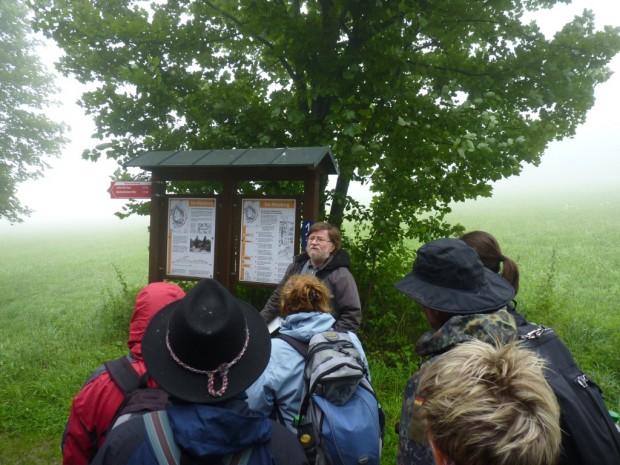 exkursionmilseburg 620x465 Neuer Lehrgang zum Zertifizierten Natur  und Landschaftsführer im Biosphärenreservat Rhön