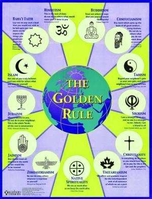 Die Goldene Regel in den Weltreligionen