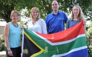 Lara Fiedler (rechts) berichtet über ihr Jahr in Südafrika.