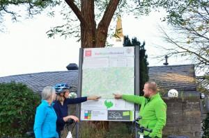 Knotenpunkttafel im Naturpark Bergisches Land (Bild: Naturpark Bergisches Land)