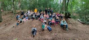 Naturaktionstag 2020  im Naturfreundehaus Hardt (Bild:  Naturpark Bergisches Land)