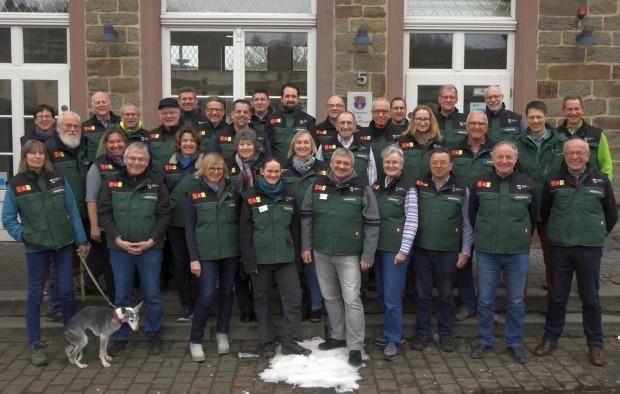 Gruppenfoto Wegepaten 620x394 Die Wegepaten des Bergischen Wanderlands starten hoch motiviert in die neue Saison