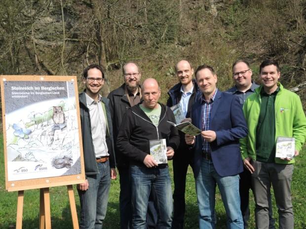 """Steinland Broschüre 620x465 Neue Broschüre """"Steinreich im Bergischen – Steinbrüche im Bergischen Land entdecken"""""""