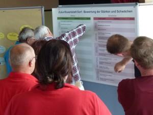 Die Bewertung von Stärken und Schwächen ist eines der Themen der Zukunftswerkstatt Dorf (Foto: Dr. Lutz Wetzlar - Naturpark Bergisches Land)