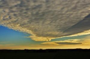 Abendhimmel – © VDNDieter Becker - Westhavelland