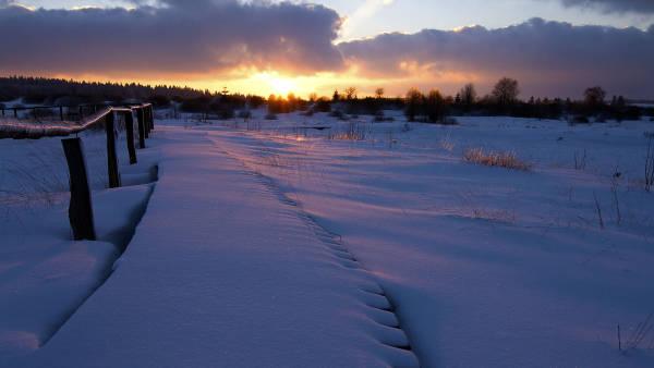 Klicken Sie auf das Bild des Tages im Fotoportal: Abendliche Erstbegehung – © VDNFarfadet - Deutsch-Belgischer Naturpark Hohes Venn - Eifel