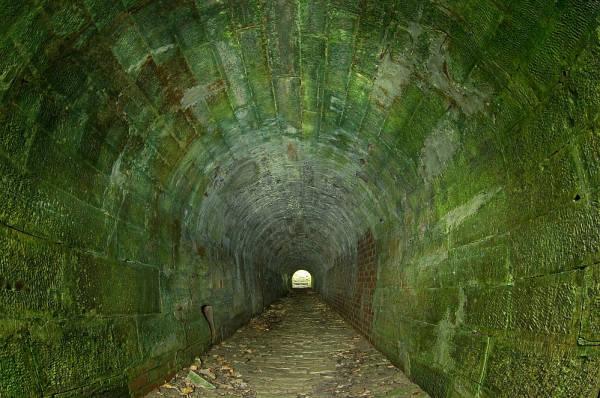 Klicken Sie auf das Bild des Tages im Fotoportal: Alte Bahnunterführung – © VDNMatze - Stromberg-Heuchelberg