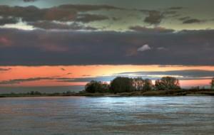 Klicken Sie auf das Bild des Tages im Fotoportal: Elbe im November - © VDNwerner voss - Elbhöhen-Wendland