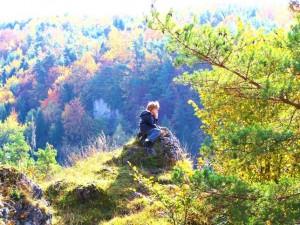Exzellente Aussicht – © VDNSteffi Ribold – Fränkische Schweiz - Veldensteiner Forst