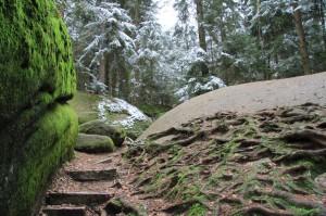 Klicken Sie auf das Bild des Tages im Fotoportal: Felsenlabyrinth- © VDNBrezina Peter- Fichtelgebirge