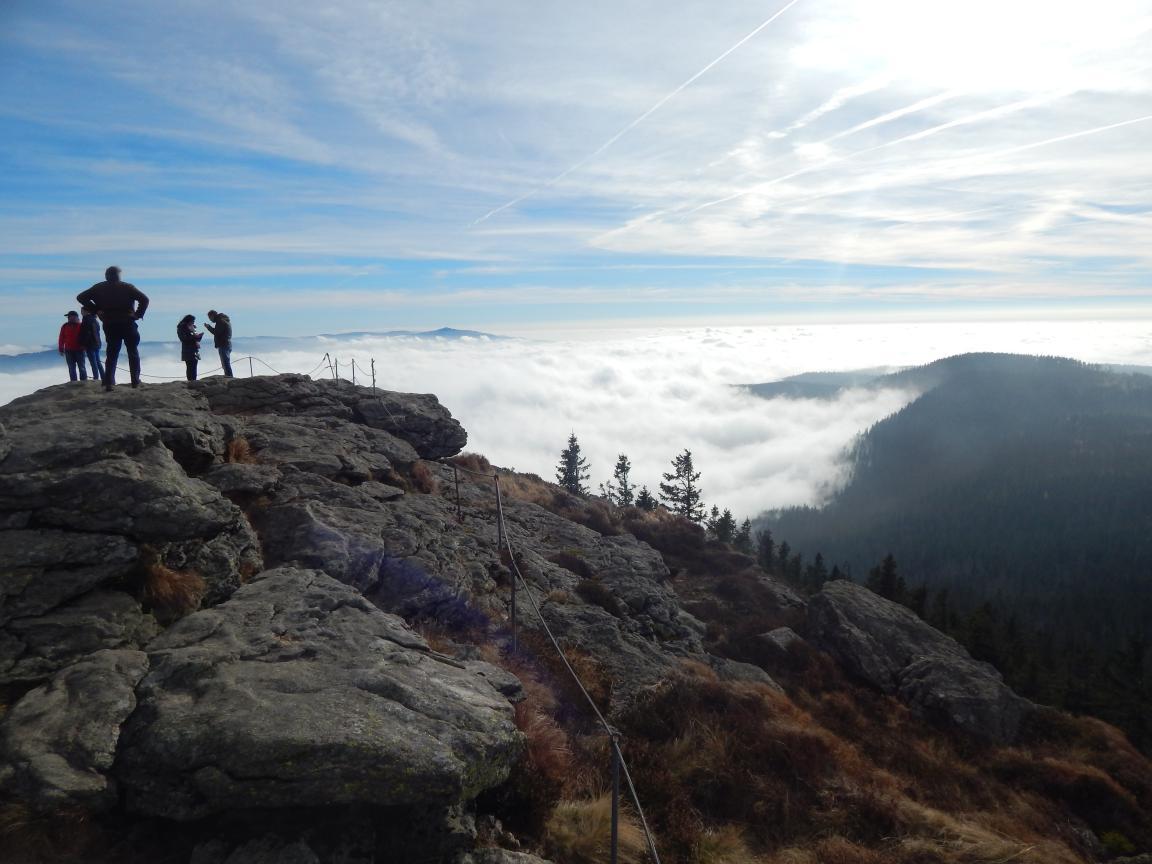 Gipfelglück – © VDNIsabelle Auer - Bayerischer Wald