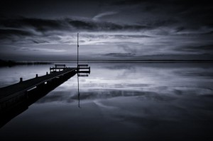 Klicken Sie auf das Bild des Tages im Fotoportal: Meeresstille –© VDNOpa - Steinhuder Meer