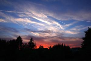 Klicken Sie auf das Bild des Tages im Fotoportal: Sonnenuntergang – © VDNchristel kessler - Saar-Hunsrück