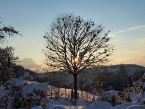 Sonnenuntergang im Winter – © VDNRoland Keser - Südschwarzwald