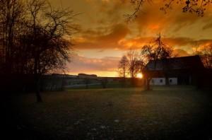 Sundown – © VDN - Hans-Jürgen Schmidt - Nördlicher Oberpfälzer Wald